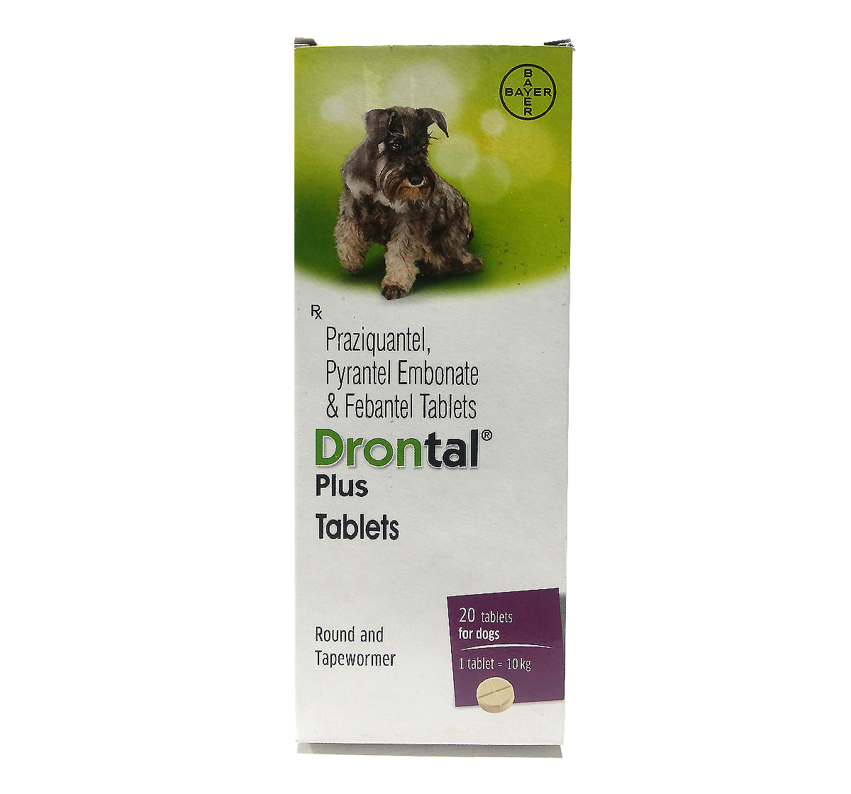 Drontal Plus / Antiparasitic tablets - Veterinary pharmacy