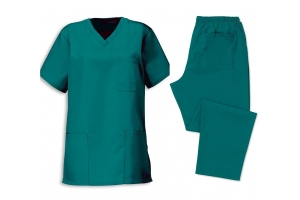 Set medical tunic with trousers